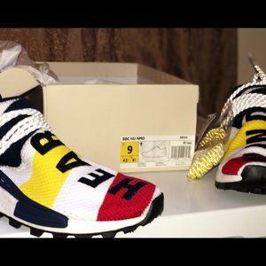 outlet store b1181 ad5f7 BBC x Adidas Nmd Hu Pharrell 8-13 BBC Human Race NWT